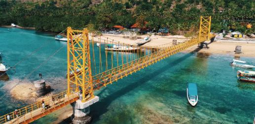 Yellow Bridge Nusa Lembongan Atau Jembatan Kuning