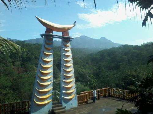 Wisata Menara Pisang