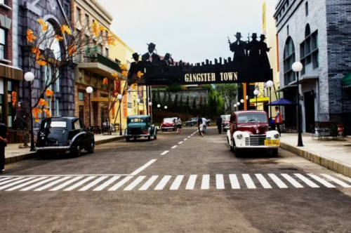 Zona Gangstar Town Broadway Street 2