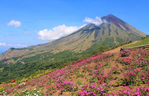 Gunung Inerie Kabupaten Ngada