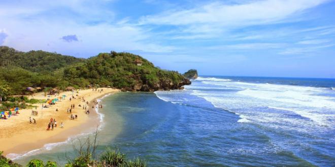 Pantai Baru Yang Ada Di Gunung Kidul Jogjakarta