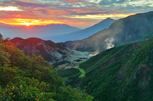 Gunung Kelud Jawa timur