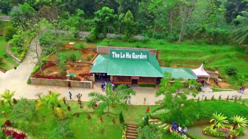 Lokasi wisata The Lehu Garden