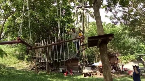 Outbond Rumah Alam Adventure Park Manado