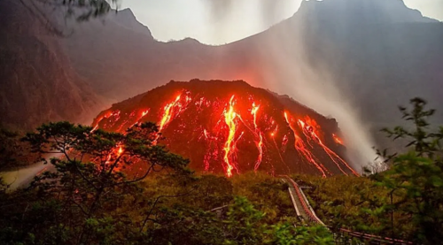 lava gunung kelud