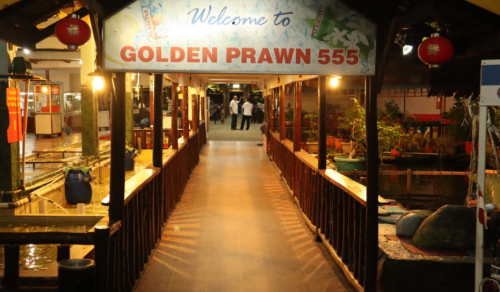 Golden Prawn Batam