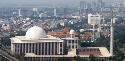 Masjid Istiqlal dan Gereja Katredal