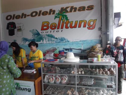 Toko Oleh oleh Khas Belitung Outlet