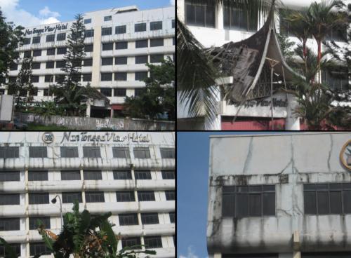 kondisi Hotel Nan Tongga yang menyeramkan