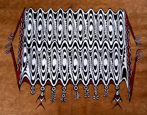motif sentani Papua
