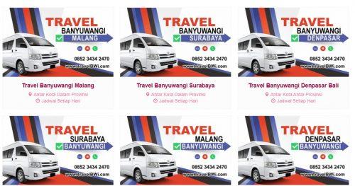 8 Travel Jurusan Surabaya Banyuwangi Termurah Paling Recommended - bwi travel
