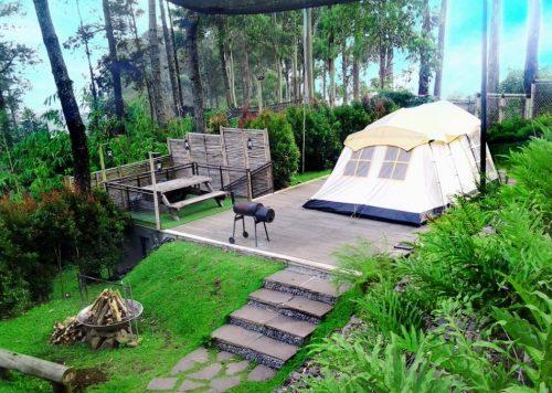 Dusun Bambu Lembang yang cocok bersama keluarga