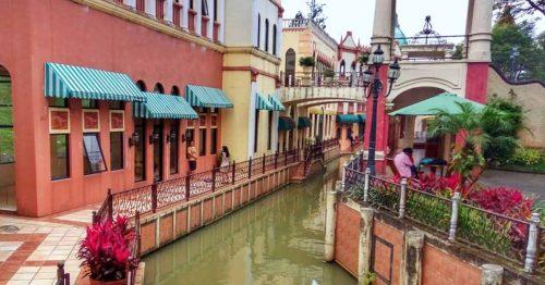 Pemandangan kota Little Venice