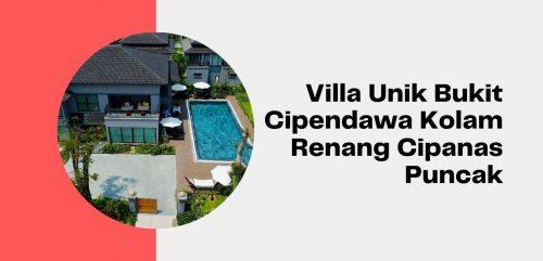 Villa Unik Bukit Cipendawa Kolam Renang Cipanas Puncak